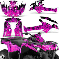 Graphic Kit Can-Am Outlander L MAX 570/450 ATV QUAD Decal Wrap 2014-2016 ICE PNK
