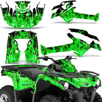 Graphic Kit Can-Am Outlander L MAX 570/450 ATV QUAD Decal Wrap 2014-2016 ICE GRN