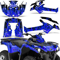 Graphic Kit Can-Am Outlander L MAX 570/450 ATV QUAD Decal Wrap 2014-2016 ICE BLU