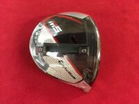 TAYLORMADE M5 9.0* RARE RH DRIVER HEAD ONLY NEW STILL IN PLASTIC + TOOL !