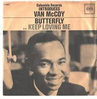 VAN McCOY--PICTURE SLEEVE + 45---(BUTTERFLY)---PS---PIC---SLV