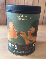 1980 Reproduction Of Hershey's Kisses 1950's 'A Kiss For You' Tin