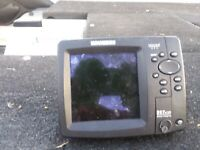 Humminbird 597ci HD GPS with Down Imaging w/ transducer. Trans needs min repair.