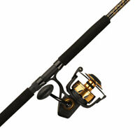 Penn Spinfisher V 8500 Fishing Rod and Spinning Reel Combo, Boat, 7 Feet, Heavy
