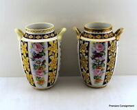 Matching Pair of Nippon Vases or Urns Large 10+