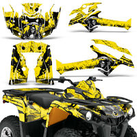 Graphic Kit Can-Am Outlander L MAX 570/450 ATV QUAD Decal Wrap 2014-2016 REAP Y