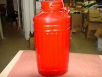 Vintage Ellisco  5 Gallon Oil Gas Can - Good Condition