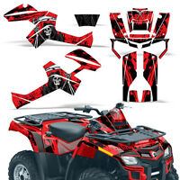 Graphic Kit Outlander ATV Quad Decals Wrap Can-Am 500/650/800/1000 06-11 REAP R