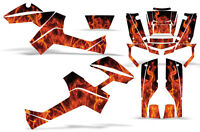 Graphic Kit Outlander ATV Quad Decals Wrap Can-Am 500/650/800/1000 06-11 ICE ORG