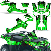 Graphic Kit Outlander ATV Quad Decals Wrap Can-Am 500/650/800/1000 06-11 ICE GRN