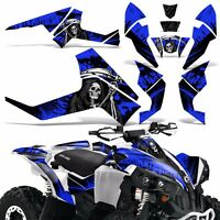 Graphic Kit CanAm Renegade X/R ATV Quad Decals Wrap Can Am 500/800/1000 REAP BLU