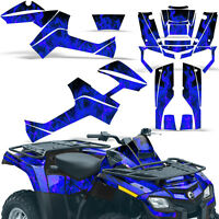 Graphic Kit Outlander ATV Quad Decals Wrap Can-Am 500/650/800/1000 06-11 ICE BLU