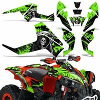 Graphic Kit CanAm Renegade X/R ATV Quad Decals Wrap Can Am 500/800/1000 REAP GRN