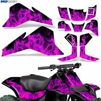 LT80 Graphic Kit Suzuki ATV Decals Sticker Wrap LT 80 Quadsport 87-06 ICE PINK