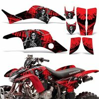 Graphic Kit Honda TRX 400ex ATV Quad Decal Sticker Wrap TRX400 EX 99-07 REAP RED