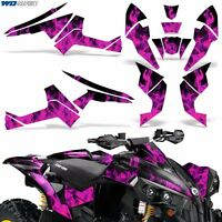 Graphic Kit CanAm Renegade X/R ATV Quad Decals Wrap Can Am 500/800/1000 ICE PINK