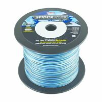Spiderwire SS50BC-1500 50Lb Stealth Braided Line Blue Camo 1500yds Blue