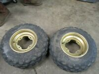 4x4 ATV Four Wheeler 4-Wheel Body Wheels Tires #23 Front 21x7-10 Polaris