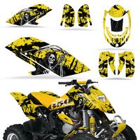 Graphic Kit Bombardier 650 ATV Quad Decals Wrap Can-Am Accessories DS650 REAP Y