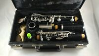 Nice Leblanc Kenosha Wis Vito Student Model 7214 Clarinet with Hard Case