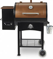 Classic 700 sq. in. Wood Fired Pellet Grill With Flame Broiler Cooking Griller