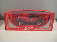 New Coca Cola Sales Car / Truck Die-Cast Metal Toy Vehicle Collectible Coke Red