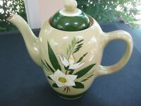 Vintage Stangl   STAR FLOWER 6-cup coffee pot with lid