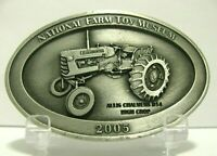 Allis Chalmers AC D14 Tractor Pewter Belt Buckle 2005 National Farm Toy Museum