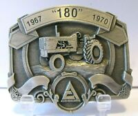 Allis Chalmers 180 One Eighty Tractor PEWTER Belt Buckle LE 17/750 ac Spec Cast