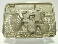 1963 Allis Chalmers D-21 Tractor PEWTER Belt Buckle LE Blank of 250 ac Spec Cast