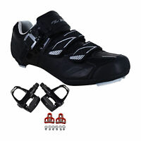 Zol Stage Plus Road Cycling Shoes with Pedals and Cleats