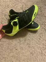 Giro Womens Techlace Road Cycling Shoes w/Boa - SZ 40 (8) - Neon Yellow