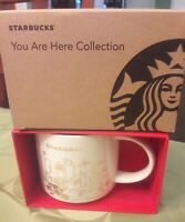 NIB With SKU STARBUCKS  SHANGHAI Christmas 2017 You Are Here (YAH)14 Oz. Mug.