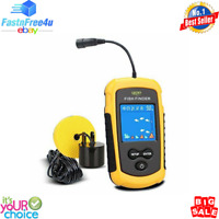 LUCKY Handheld Fish Finder Portable Fishing Kayak Fish DepthFinder w LCD Dislpay
