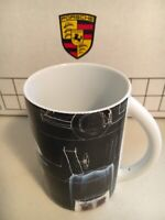 Porsche Coffee Tea Cup Mug No. 7  Numbered 0881/5000 Limited Edition