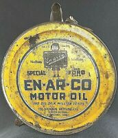 Rare 1920's Ford En-Ar-Co Motor Oil 5 Gallon Rocker Can for ford motors vintage
