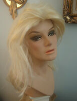 BEAUTIFUL VINTAGE 1960s/70s GLAMEROUS FEMALE LIFE-SIZE MANNEQUIN DISPLAY BUST