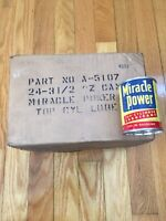 Miracle Power Top Cylinder Lubricant Never Opened Case Of 24 Cans