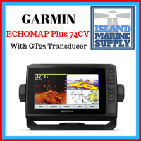 Garmin ECHOMAP Plus 74CV With GT23M-TM Transducer 010-01894-05