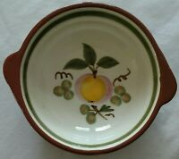 Stangl Apple Delight lugged soup bowl 6-1/8
