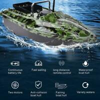 Remote Control RC Wireless Fishing Bait Boat Speedboat Fish Finder w/ LED Light