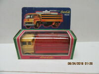 '80S BEDFORD COCA-COLA TOY FRICTION MOTOR TRUCK W/BOX-NM-6-1/4