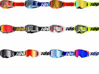 100% Armega Goggles Motocross Offroad MX ATV Mens Youth All Colors