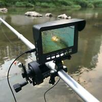 Underwater Fishing Camera 4.3'' HD LCD Monitor IR Night Vision Video Fish Finder