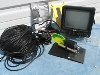 Atlantis ll Underwater Video Camera System Fishing Fish Finder AUW-701