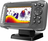 Lowrance HOOK² 4x Fishfinder with Bullet Skimmer Transducer (000-14012-001)