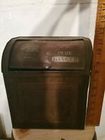 Simmons and Co Casey Iowa Tin Ginger Spice Bin Store Display