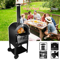 ⭐ PIZZA OVEN OUTDOOR WOOD FIRED Grill Barbecues Best Choice Stainless Steel New