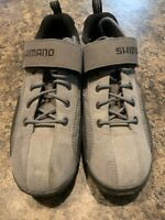 Shimano Cycling Shoes Size 45 Black Gray SH-MT40 (US Size 10.5)
