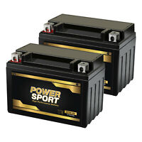 2 Pack -  YTX9-BS Replacement Battery for Motorcycle, ATV Maintenance Free